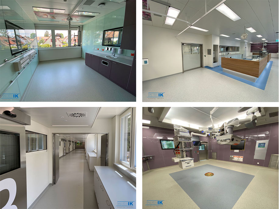 Pictures of the project St. Claraspital Basel