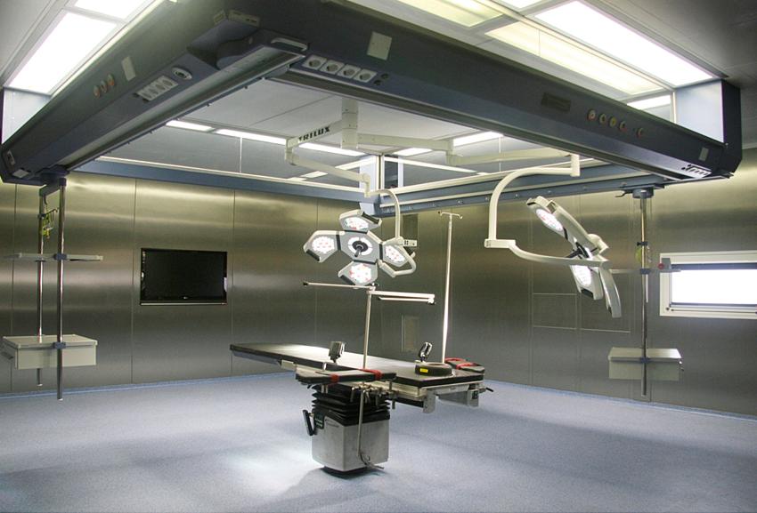 Medglas ceiling medik hospital design gmbh medik for Air circulation in a room