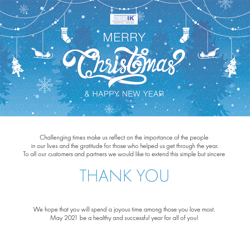 Seasons Greetings to customers and partners